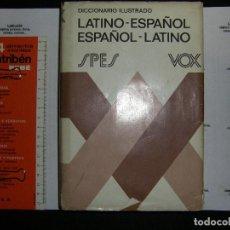 Libri antichi: DICCIONARIO LATINO- ESPAÑOL ESPAÑOL-LATINO. VOX SPES. Lote 74754847