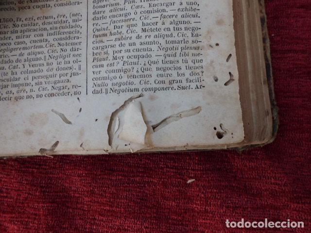 Diccionarios antiguos: Libro Valbuena diccionario Latino-Español 1854 B-106 - Foto 3 - 76253283