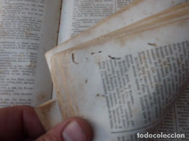 Diccionarios antiguos: Libro Valbuena diccionario Latino-Español 1854 B-106 - Foto 4 - 76253283