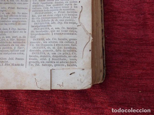 Diccionarios antiguos: Libro Valbuena diccionario Latino-Español 1854 B-106 - Foto 5 - 76253283