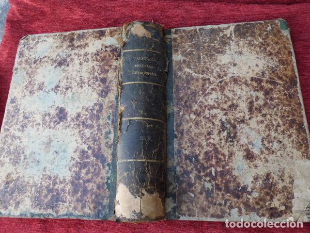 Diccionarios antiguos: Libro Valbuena diccionario Latino-Español 1854 B-106 - Foto 8 - 76253283