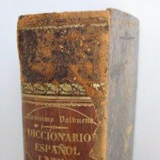 Diccionarios antiguos: COMPLETÍSIMO DICCIONARIO ESPAÑOL - LATINO (1866). VALBUENA - AGUSTIN ROCAGOMERA. Lote 76763587