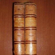 Diccionarios antiguos: DICCIONARI DE LA LLENGUA CATALANA, POR D. PERE LABERNIA Y ESTELLER. COMPLETO 2 TOMOS. Lote 78345801