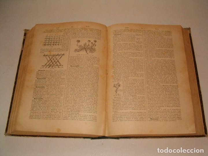 Diccionarios antiguos: Diccionario de la Vida Práctica, indispensable en el campo y en la ciudad. RM79303. - Foto 6 - 78414529
