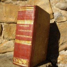 Diccionarios antiguos: PEDRO DE SALAS: COMPENDIUM LATINO-HISPANUM UTRIUSQUE LINGUAE, IMP.PIFERRER 1794. Lote 78818977