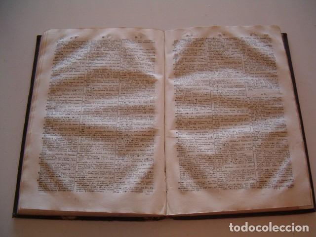 Diccionarios antiguos: CORNELII SCHREVELII. Lexicon Manuale Graeco-Latinum et Latino-Graecum. RM79336. - Foto 4 - 79210405