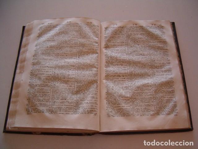Diccionarios antiguos: CORNELII SCHREVELII. Lexicon Manuale Graeco-Latinum et Latino-Graecum. RM79336. - Foto 5 - 79210405