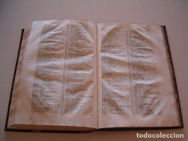 Diccionarios antiguos: CORNELII SCHREVELII. Lexicon Manuale Graeco-Latinum et Latino-Graecum. RM79336. - Foto 6 - 79210405