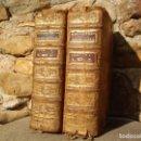 Diccionarios antiguos: LADVOCAT: DICTIONNAIRE HISTORIQUE-PORTATIF DES PATRIARCHES, DES PRINCES...2 VOLS, PARIS 1761. Lote 79630913
