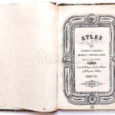 Diccionarios antiguos: ATLAS DICCIONARIO DE AGRICULTURA PRÁCTICA Y ECONOMÍA RURAL AGUSTÍN ESTEBAN COLLANTES / ALFARO 1855. Lote 80223037