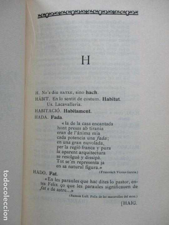 Diccionarios antiguos: DICCIONARI DE BARBRISMES INTRODUHITS EN LA LLENGUA CATALANA.CARETA Y VIDAL. 1901. - Foto 6 - 82281580
