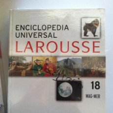 Diccionarios antiguos: ENCICLOPEDIA UNIVERSAL LAROUSSE Nº 18 MAG-MER. Lote 82624824