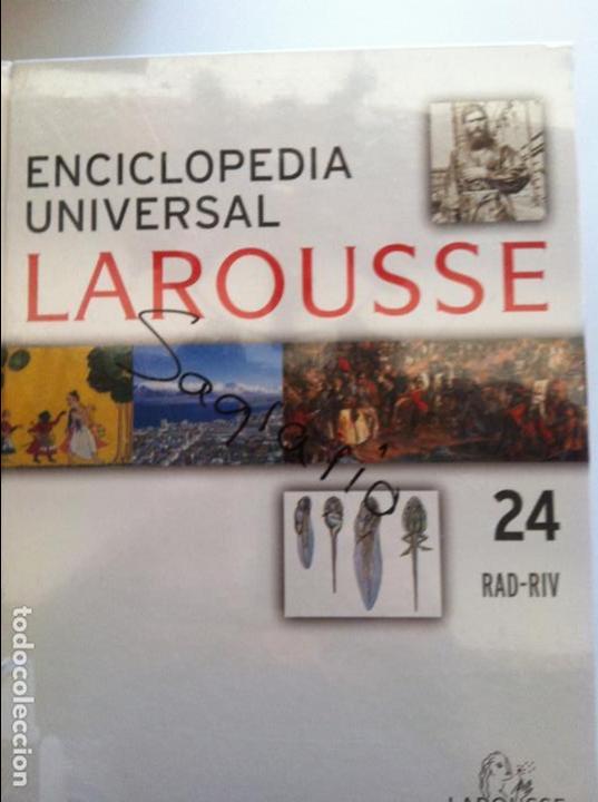 ENCICLOPEDIA UNIVERSAL LAROUSSE Nº 24 RAD-RIV (Libros Antiguos, Raros y Curiosos - Diccionarios)