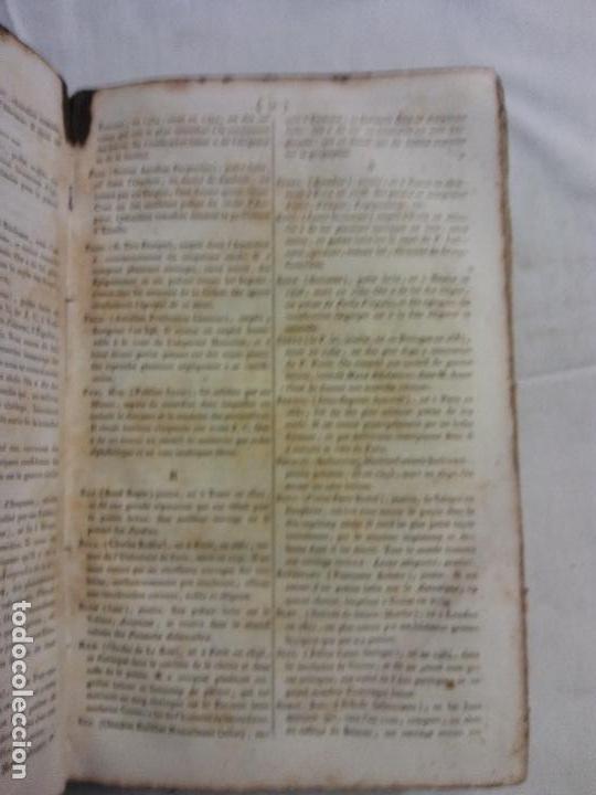 Diccionarios antiguos: HOS.DICTIONNAIRE POETIQUE. LATIN FRANCES. GRADUS AD PARNASSUM.FR NOEL. PARIS 1818 - Foto 3 - 83357292