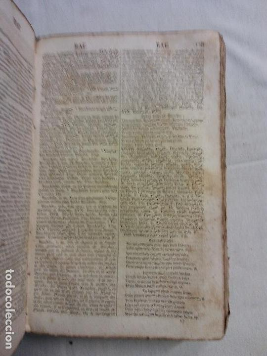 Diccionarios antiguos: HOS.DICTIONNAIRE POETIQUE. LATIN FRANCES. GRADUS AD PARNASSUM.FR NOEL. PARIS 1818 - Foto 4 - 83357292
