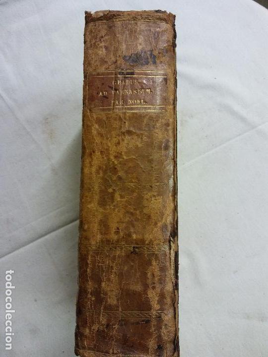 Diccionarios antiguos: HOS.DICTIONNAIRE POETIQUE. LATIN FRANCES. GRADUS AD PARNASSUM.FR NOEL. PARIS 1818 - Foto 6 - 83357292