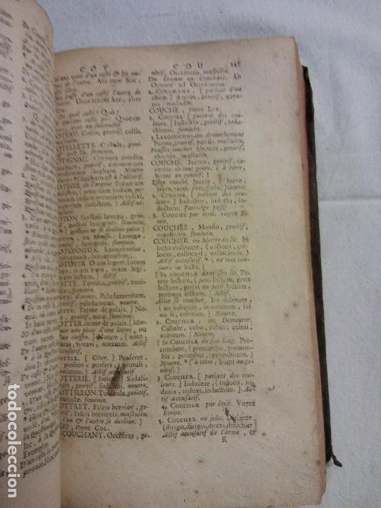 Diccionarios antiguos: HOS. DICTIONNAIRE DES COMMENÇANS. FRANCES-LATIN. LE DUC DE BRETAGNE. 1713, - Foto 2 - 83357764