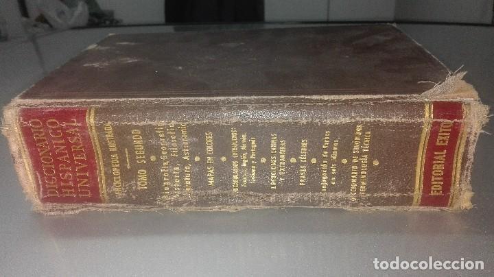 DICCIONARIO HISPANICO UNIVERSAL.EDIT.EXITO (Libros Antiguos, Raros y Curiosos - Diccionarios)