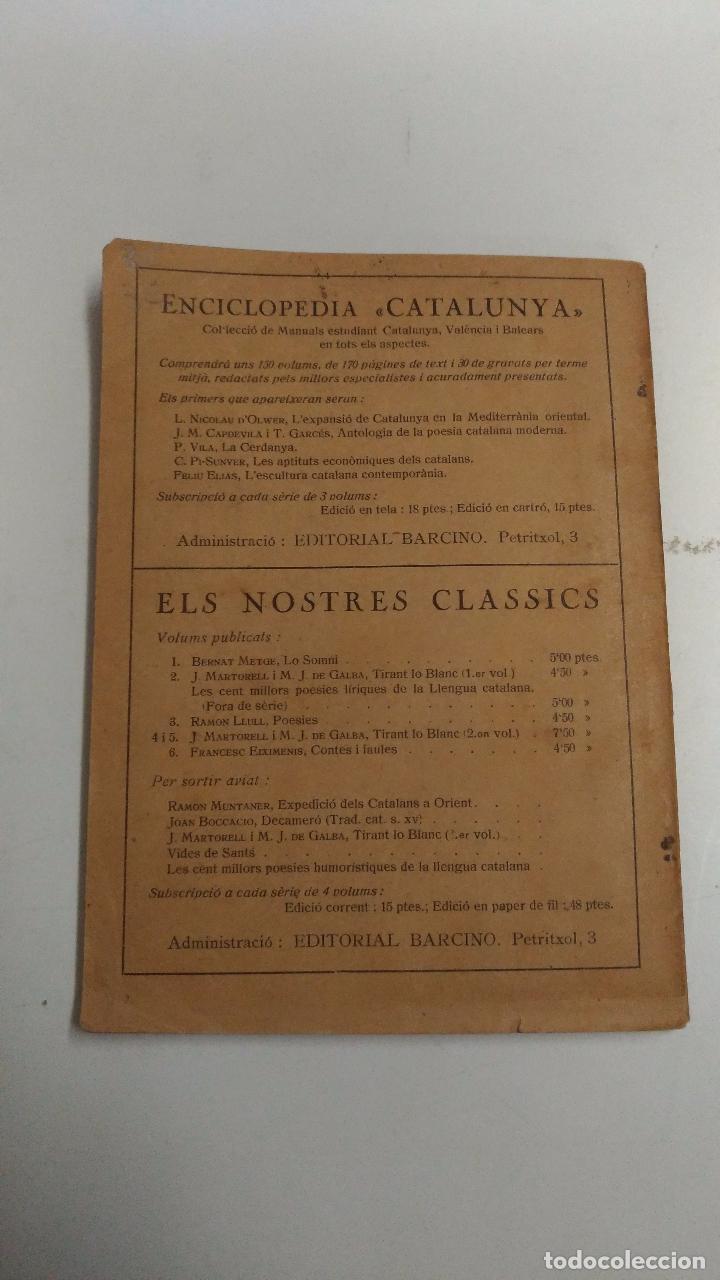 Diccionarios antiguos: Diccionari ortografic abreujat. Pompeu Fabra. 1926 Barcelona. Ed.: Barcino. Imprenta: Joan Sallent - Foto 3 - 94306982