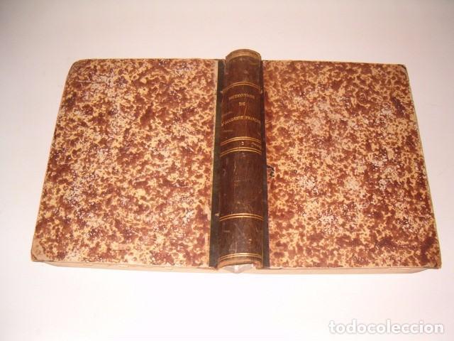 INSTITUT DE FRENCE. DICTIONNAIRE DE L'ACADÉMIE FRANÇAISE. TOME SECOND. RM80305. (Libros Antiguos, Raros y Curiosos - Diccionarios)