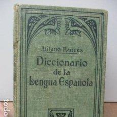 Diccionarios antiguos: DICCIONARIO DE LA LENGUA ESPAÑOLA - ATILANO RANCÉS 1937 - CON 800 GRABADOS. Lote 86066740