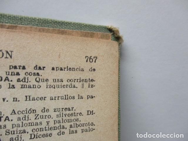 Diccionarios antiguos: DICCIONARIO DE LA LENGUA ESPAÑOLA - ATILANO RANCÉS 1937 - CON 800 GRABADOS - Foto 13 - 86066740