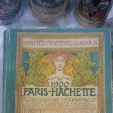 Diccionarios antiguos: DIRECTORIO COMERCIAL ANTIGUO AÑO 1900 PARIS. Lote 86492452