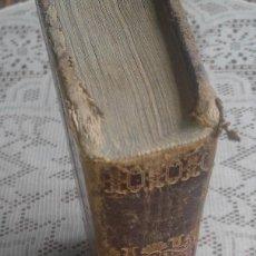 Diccionarios antiguos: DICCIONARIO FRANCÉS-ESPAÑOL - NÚÑEZ DE TABOADA - BARCELONA - 1848 - AUMENTADO 10.000 VOCES - PASTA . Lote 86684224