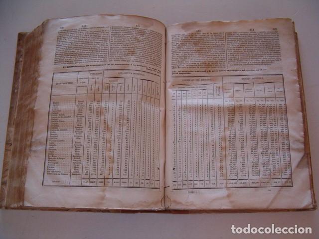 Diccionarios antiguos: Diccionario Geográfico – Estadístico – Histórico de España.. Tomo 1. Aba-Alicante. RM80847. - Foto 6 - 86720152