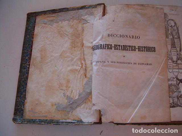 Diccionarios antiguos: Diccionario Geográfico – Estadístico – Histórico de España. Tomo VI. Cas-Córdoba. RM80849. - Foto 2 - 86721152