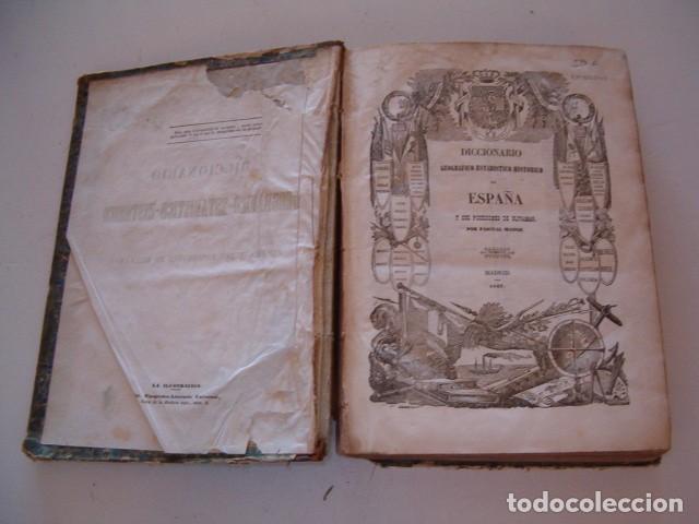 Diccionarios antiguos: Diccionario Geográfico – Estadístico – Histórico de España. Tomo VI. Cas-Córdoba. RM80849. - Foto 3 - 86721152