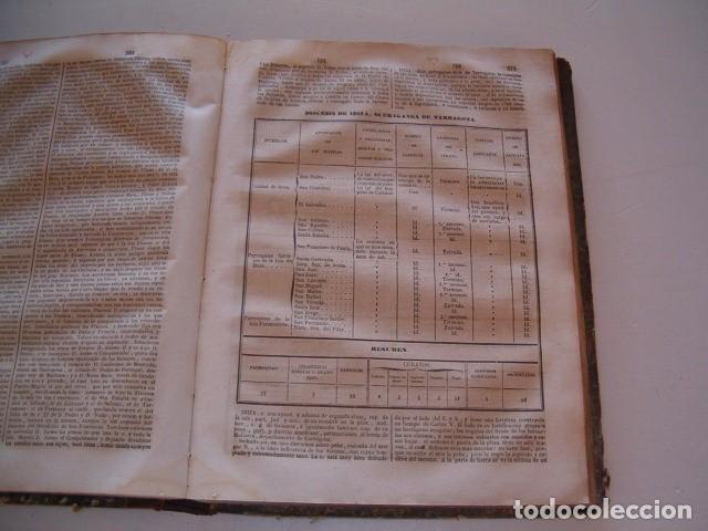 Diccionarios antiguos: Diccionario Geográfico – Estadístico – Histórico de España.Tomo IX. Gua-Juz. RM80850. - Foto 5 - 86721220