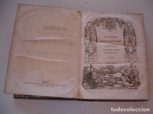 Diccionarios antiguos: Diccionario Geográfico – Estadístico – Histórico de España. Tomo XIV. Sea-Toledo. RM80853. - Foto 2 - 86721468