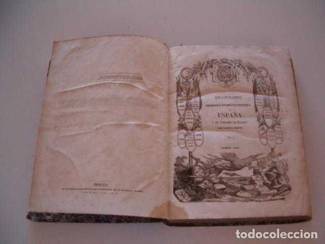 Diccionarios antiguos: Diccionario Geográfico – Estadístico – Histórico de España. Tomo XV. Tol-Vet. RM80854. - Foto 2 - 86721524