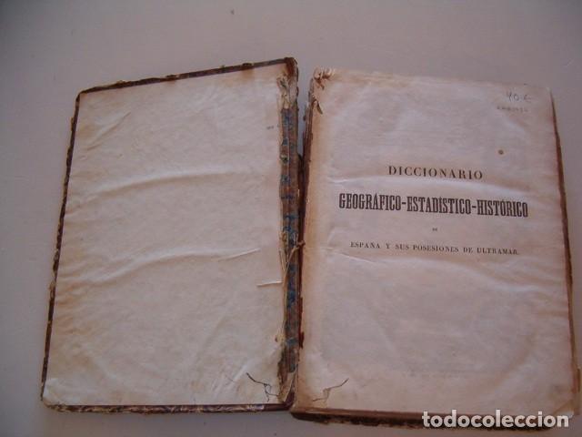 Diccionarios antiguos: Diccionario Geográfico – Estadístico – Histórico de España. Tomo V. RM80954. - Foto 2 - 87056940