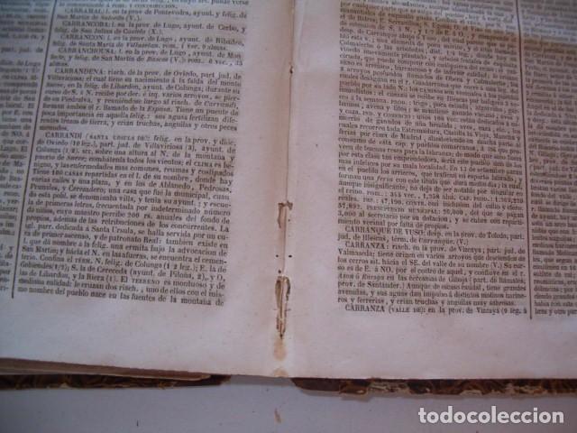 Diccionarios antiguos: Diccionario Geográfico – Estadístico – Histórico de España. Tomo V. RM80954. - Foto 5 - 87056940