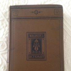 Diccionarios antiguos: DICCIONARIO WALKERS DE 1881_LIQUIDACION. Lote 87371716