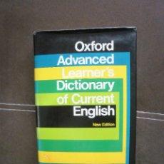 Diccionarios antiguos: DICCIONARIO OXFORD ADVANCED. Lote 87541604
