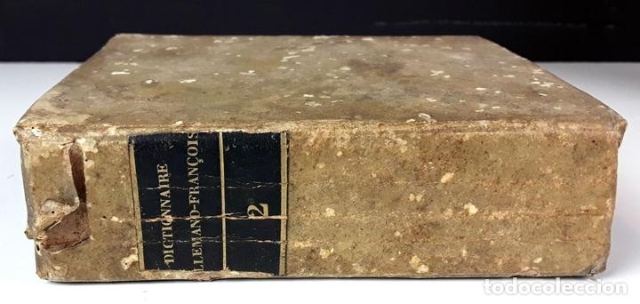Diccionarios antiguos: DICTIONNAIRE DE POCHE FRANÇOIS-ALLEMAND ET ALLEMAND-FRANÇOIS. TOMO II. IMP. LEVRAULT. 1826. - Foto 5 - 89250348