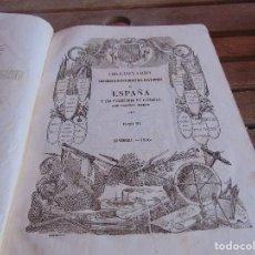 Diccionarios antiguos: DICCIONARIO GEOGRAFICO-ESTADISTICO-HISTORICO DE ESPAÑA Y SUS POSESIONES DE ULTRAMAR MADOZ TOMO 3. Lote 89374976