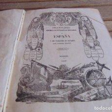 Diccionarios antiguos: DICCIONARIO GEOGRAFICO-ESTADISTICO-HISTORICO DE ESPAÑA Y SUS POSESIONES DE ULTRAMAR MADOZ TOMO 10. Lote 89375272