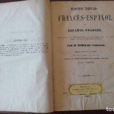 Libri antichi: DICCIONARIO FRANCES TABOADA TOMOS I Y II. Lote 89734132