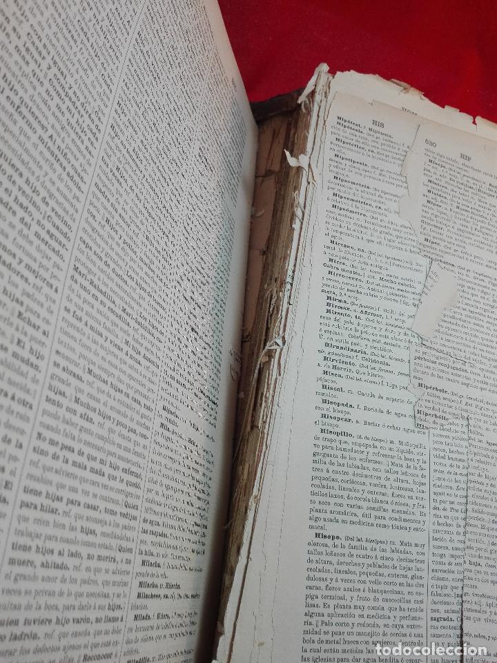 Diccionarios antiguos: DICCIONARIO DE LA LENGUA CASTELLANA POR LA REAL ACADEMIA ESPAÑOLA - DECIMATERCIA EDICIÓN - 1899 - - Foto 7 - 90522410