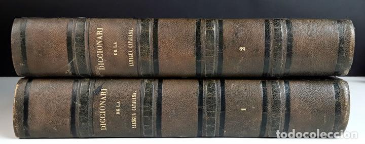 DICCIONARI DE LA LLENGUA CATALANA. TOMOS I Y II. PERE LABERNIA. EDITORS ESPASA GERMANS. 1864/65. (Libros Antiguos, Raros y Curiosos - Diccionarios)