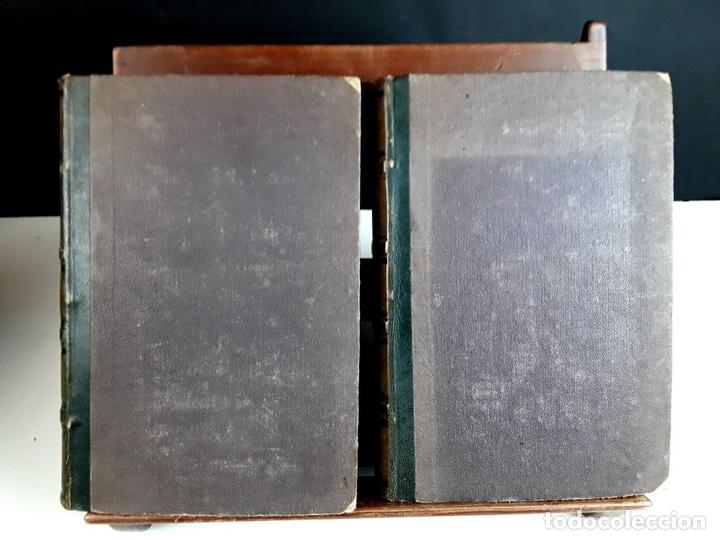 Diccionarios antiguos: DICCIONARI DE LA LLENGUA CATALANA. TOMOS I Y II. PERE LABERNIA. EDITORS ESPASA GERMANS. 1864/65. - Foto 2 - 93005315
