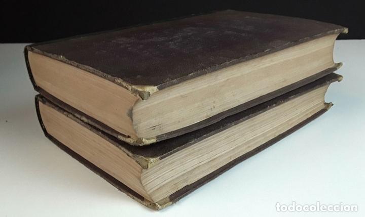 Diccionarios antiguos: DICCIONARI DE LA LLENGUA CATALANA. TOMOS I Y II. PERE LABERNIA. EDITORS ESPASA GERMANS. 1864/65. - Foto 7 - 93005315