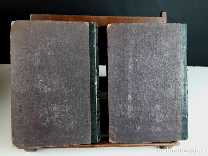 Diccionarios antiguos: DICCIONARI DE LA LLENGUA CATALANA. TOMOS I Y II. PERE LABERNIA. EDITORS ESPASA GERMANS. 1864/65. - Foto 8 - 93005315