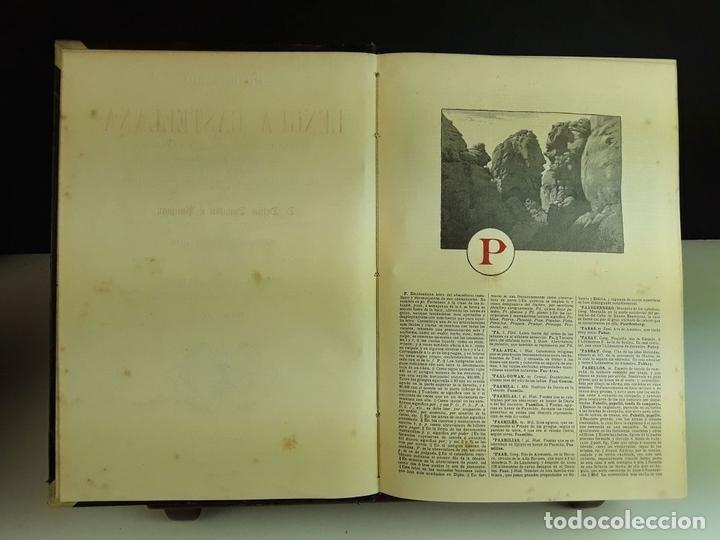Diccionarios antiguos: DICCIONARIO DE LA LENGUA CASTELLANA. 4 TOMOS. EDITORES ESPASA Y COMPAÑÍA. S/F. - Foto 6 - 93736680
