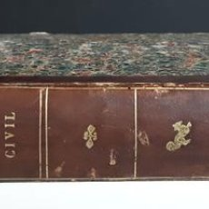 Diccionarios antiguos: DICCIONARIO TEÓRICO-PRÁCTICO DEL ENJUICIAMIENTO CIVIL. IMP. V. DE DOMINGUEZ. 1856.. Lote 95104439