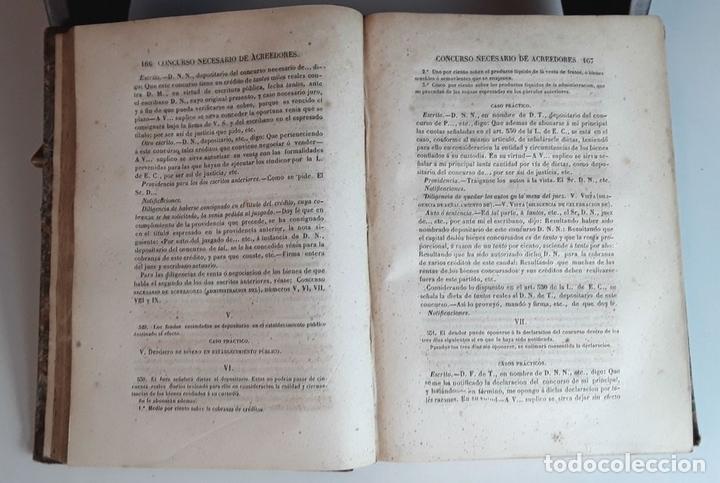 Diccionarios antiguos: DICCIONARIO TEÓRICO-PRÁCTICO DEL ENJUICIAMIENTO CIVIL. IMP. V. DE DOMINGUEZ. 1856. - Foto 5 - 95104439